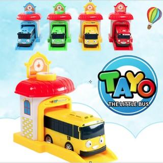Tayo Bus – Xe buýt đồ chơi trẻ em gồm 1 nhà đẩy và 1 xe