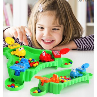 Trò chơi vui nhộn cho bé cùng gia đình ếch ăn hạt đậu