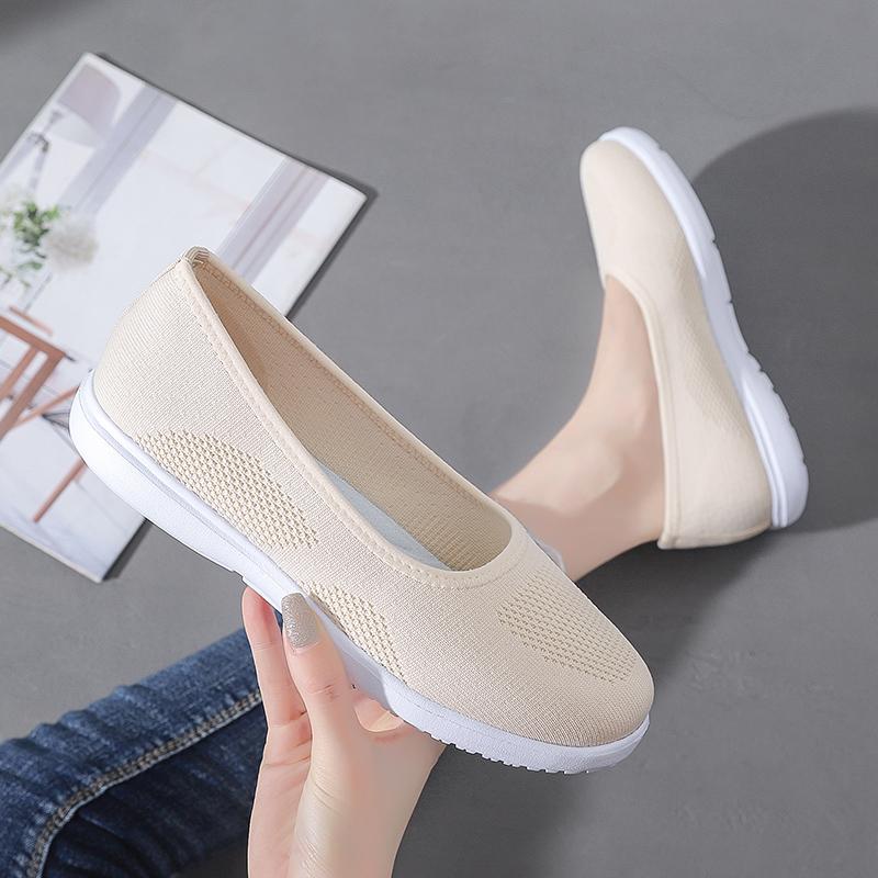 Giày Búp Bê Mũi Tròn Thời Trang Cho Nữ