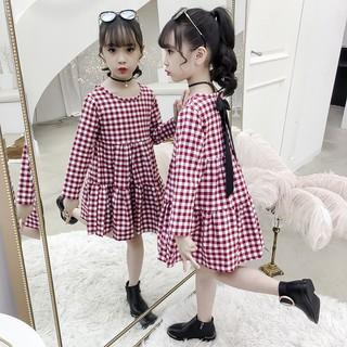 VL92⚡Size110-160 (15-40kg)⚡Đầm cho bé gái, kiểu dáng công chúa⚡Thời trang trẻ Em hàng quảng châu freeship