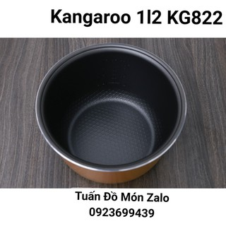 Ruột Nồi, Lòng Nồi Nồi cơm điện Kangaroo 1.2 lít KG822 phụ tùng linh kiện chính hãng
