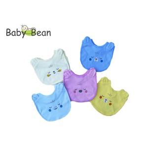 Yếm Ăn Dặm hình Gấu, Mèo cho Bé Sơ Sinh BabyBean thumbnail