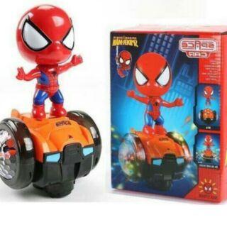 Người nhện Đi xe cân bằng phát nhạc có đèn