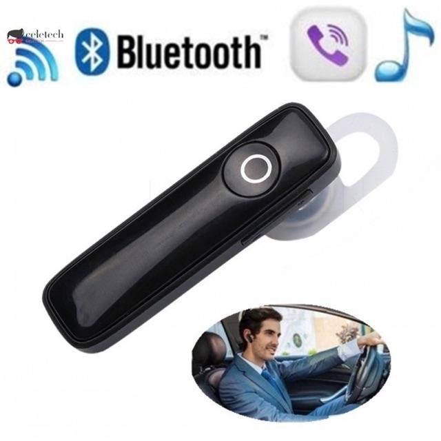 Tai nghe Bluetooth M1654 nghe nhạc có micro đàm thoại (đen bóng - trắng bóng)