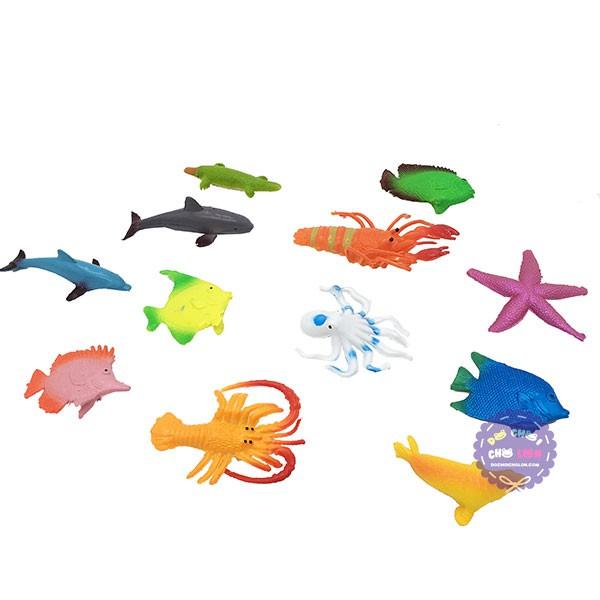 Mô hình động vật các loài con vật bằng nhựa Việt Nam size 5 cm (Đủ Mẫu)