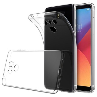 Ultra Thin TPU Clear Transparent Phone Back Protector Case Cover Skin For LG G6