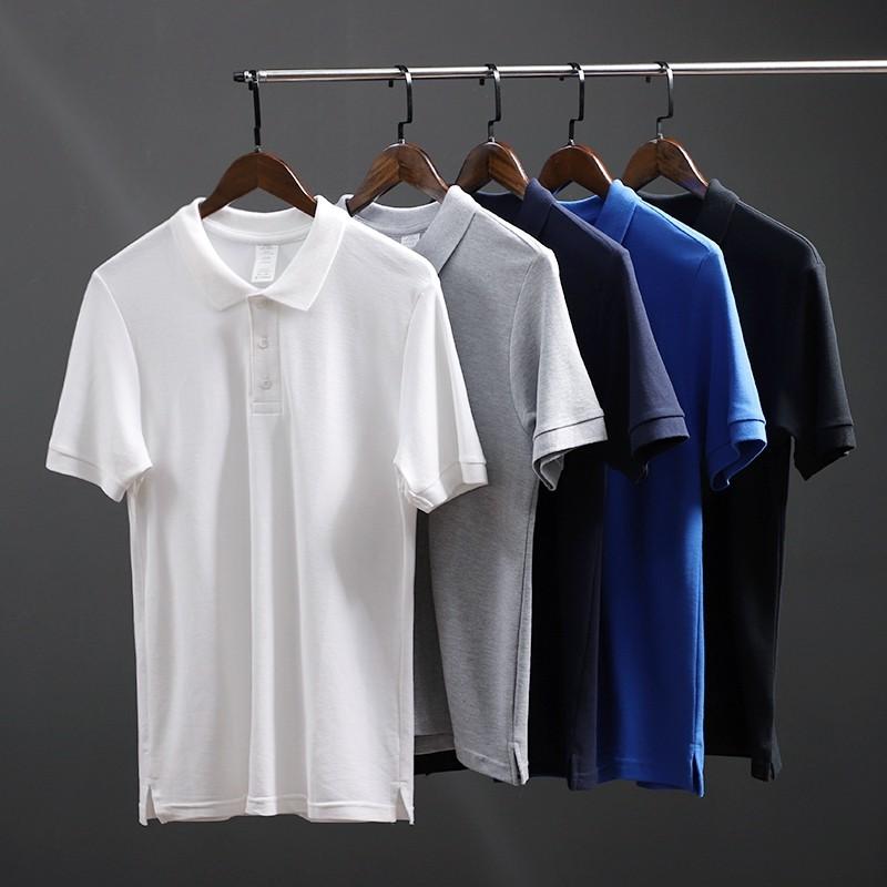 Áo phông nam cổ bẻ tay ngắn cao cấp : Chất thun cá sấu cotton 100% co giãn 4 chiều cực mềm mịn mát