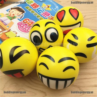 {buddi} Smile Face Anti Stress Reliever Ball ADHD Autism Mood Toy Squeeze Relief{LJ}