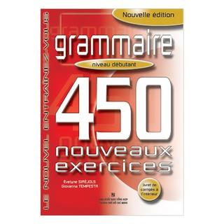 Sách - 450 Grammaire Niveau Débutant