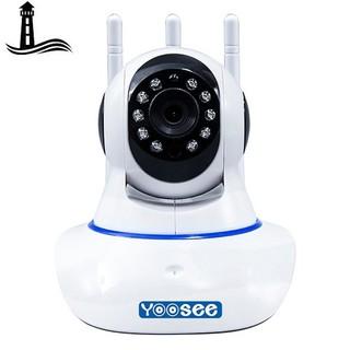 Camera IP Wifi Yoosee 3 Râu HD720P 10 đèn hồng ngoại đàm thoại 2 chiều