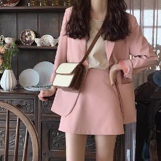 Set vest + chân váy trơn nhiều màu ( có ảnh thật)