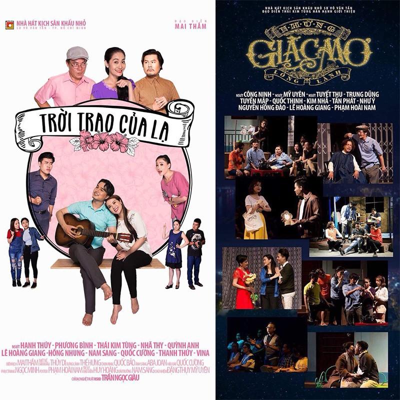 HCM [Voucher] Vé xem kịch tại Sân khấu nhỏ 5B Võ Văn Tần - Áp dụng tất cả các ngày kể cả Lễ v