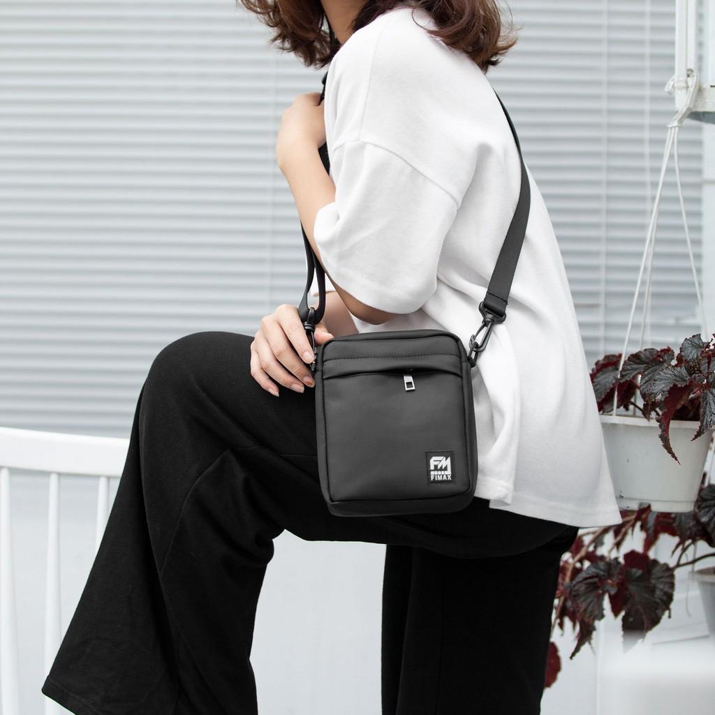 Túi đeo chéo mini nữ Fimax vải Oxford chống nước, túi nhỏ đeo chéo giá rẻ đựng phụ kiện đi chơi – BH 12 tháng