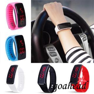 ☞❀❤♕GOANew Fashion Digital LED Sports Watch Unisex Silicone Men Women Wrist Watches