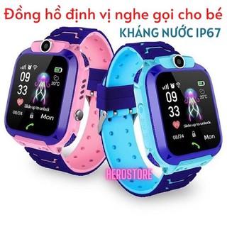 Đồng hồ định vị trẻ em Q12 hỗ trợ nghe gọi chụp ảnh kháng nước IPX6 màn hình 1,44inch màn hình cảm ứng
