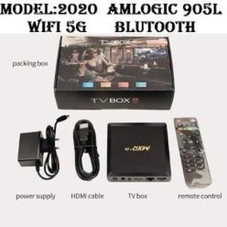 Android TV box MXQ+ wifi 5G Ram2G+16G Bluetooth đã cài sãn ứng dụng