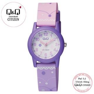 Đồng hồ trẻ em Q&Q Citizen VR99J006Y dây nhựa thương hiệu Nhật Bản thumbnail