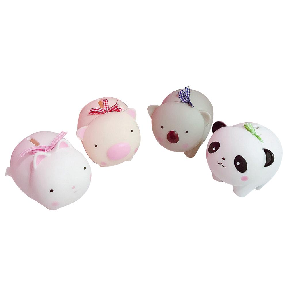 Cartoon Animal Cute Home Decoration Nursery Saving Cash Coin Baby Room Money Box