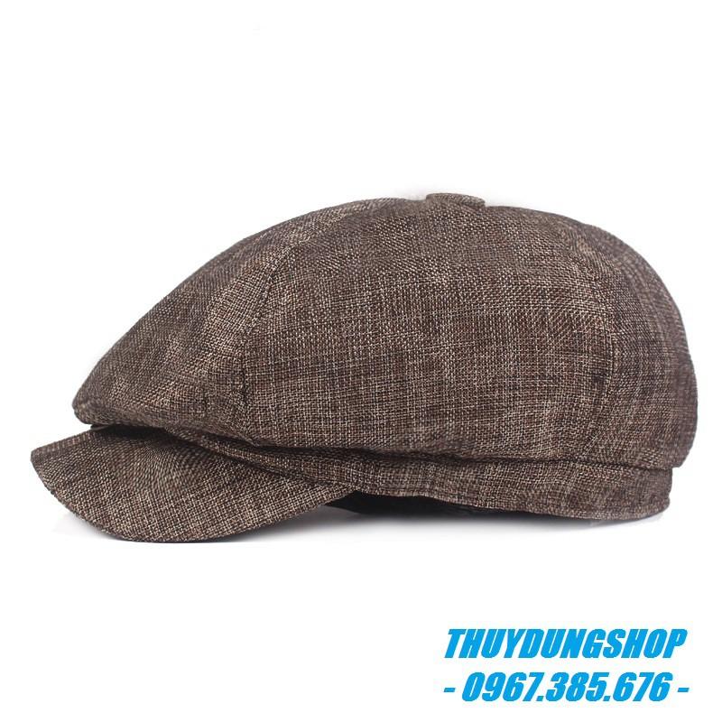 Mũ beret nam trung niên đẹp MNA21