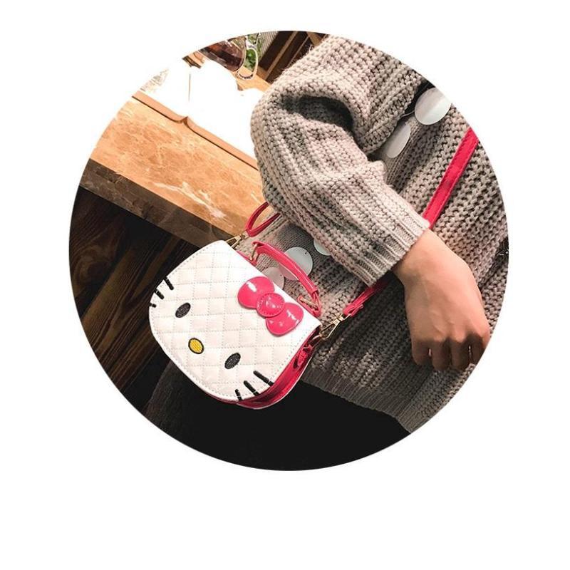 b81358ac8 3G3 Al Sahhia Ready Stock Kawaii Cute Pretty Bow Hello Kitty PU Handbag Kid  Girls Bag Sling Beg - 3G3 Al Sahhia Ready Stock Kawaii Cute Pretty Bow Hello  ...