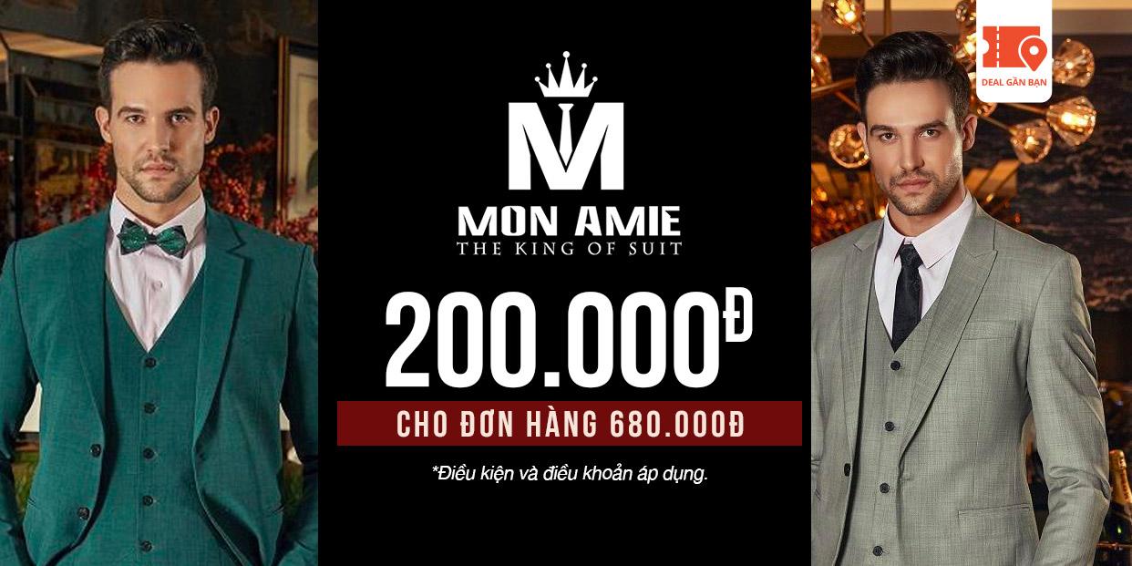 E-Voucher Mon Amie 200.000đ cho đơn hàng 680.000đ