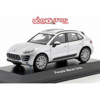 Mô hình xe ô tô Macan Turbo tỉ lệ 1:32 màu trắng Chất Liệu Hợp Kim Cao Cấp