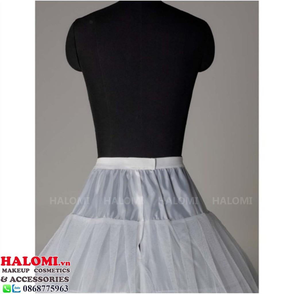 Mặc gì đẹp: Tùng phồng váy cô dâu 3 tầng voan lưới chân rộng xòe 80cm chuyên dùng cho váy cưới loại vừa khung dẻo dễ gấp gọn