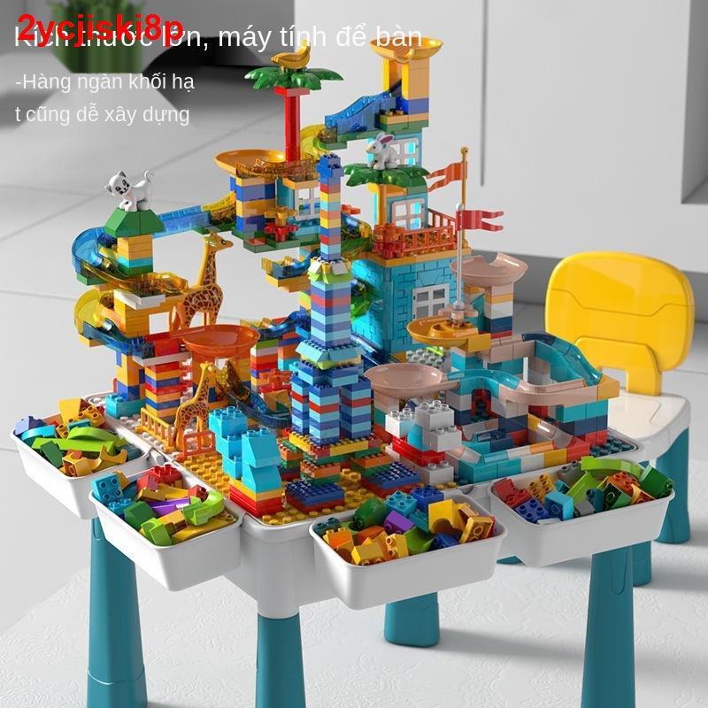 Tương thích với bàn xây dựng trẻ em Lego, cậu bé xếp hình đa chức năng Phát triển trí tuệ 6 món đồ chơi lắp ráp