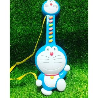 Đồ chơi đàn hình Doraemon dùng pin phát nhạc cho bé (ảnh thật)