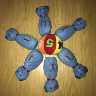 Set bowling nhồi bông cho bé (đồ si tuyển)