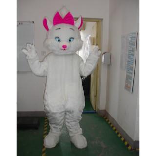 Quần áo hoá trang Mascot Mèo trắng – sinh nhật, sự kiện