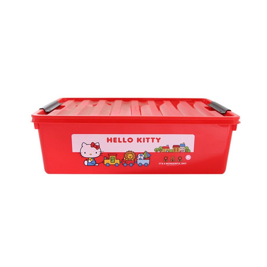 Thùng đựng đồ bằng nhựa màu đỏ Hello Kitty - 30L [LKT112R] - 3561928 , 1134742428 , 322_1134742428 , 649000 , Thung-dung-do-bang-nhua-mau-do-Hello-Kitty-30L-LKT112R-322_1134742428 , shopee.vn , Thùng đựng đồ bằng nhựa màu đỏ Hello Kitty - 30L [LKT112R]