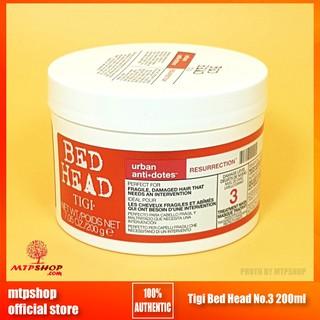Kem Ủ Hấp Tóc Phục Hồi Hư Tổn Tigi Bed Head No.3