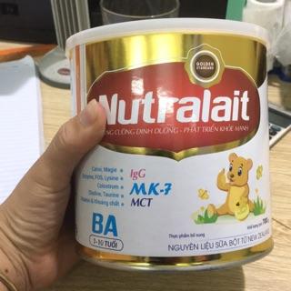 Sữa Nutralait BA -700g dành cho trẻ từ 1-10 tuổi