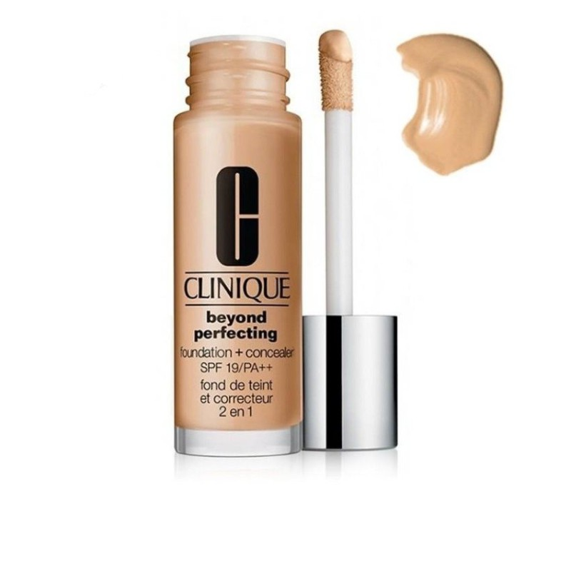 Kem nền và che khuyết điểm Clinique Beyond Perfecting Foundation and Concealer SPF 19/PA++ #Neutral - 3554648 , 1247296156 , 322_1247296156 , 1034000 , Kem-nen-va-che-khuyet-diem-Clinique-Beyond-Perfecting-Foundation-and-Concealer-SPF-19-PA-Neutral-322_1247296156 , shopee.vn , Kem nền và che khuyết điểm Clinique Beyond Perfecting Foundation and Conce