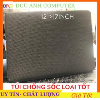 Túi chống sốc LAPTOP LOẠI DÀY từ 12 inch -> 17 inch- Đen Hoàn Toàn- Bảo Vệ Cho Laptop Của Bạn