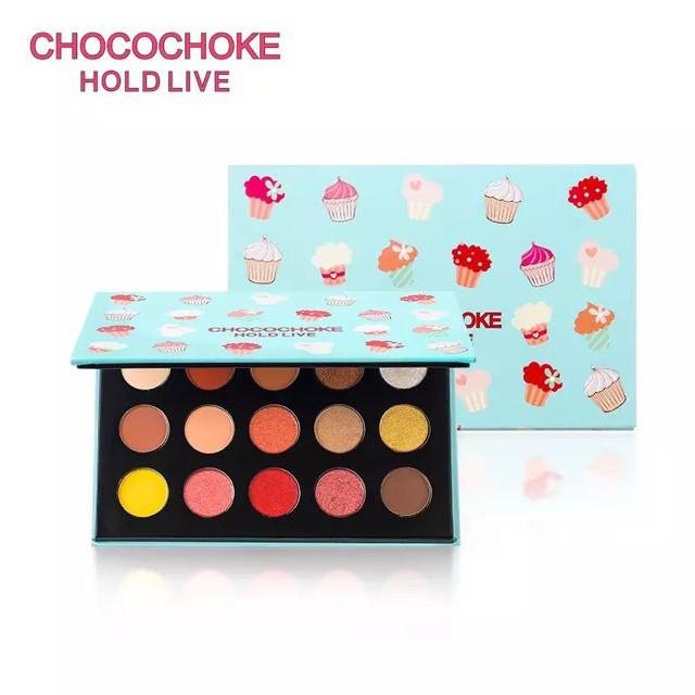 [HOLD LIVE] Bảng mắt 15 màu Choco Choke Ice Cream xanh