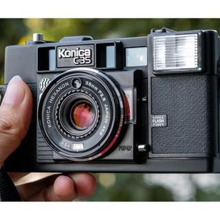 [Thanh lý] Máy ảnh film Konica C35 AF ngoại hình đẹp tặng nắp lens