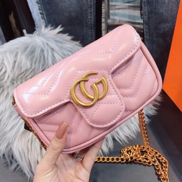 Túi đeo chéo nữ mini da mềm mẫu HOT
