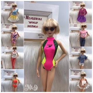 Đồ búp bê Barbie chính hãng. Mã D