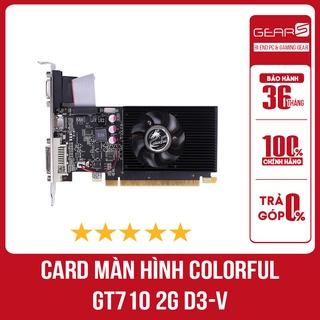 Card màn hình Colorful GT710 2G D3-V - Bảo hành chính hãng 36 Tháng thumbnail