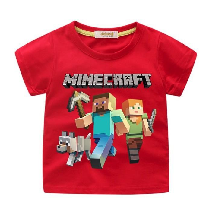 Áo phông minecraft Steve