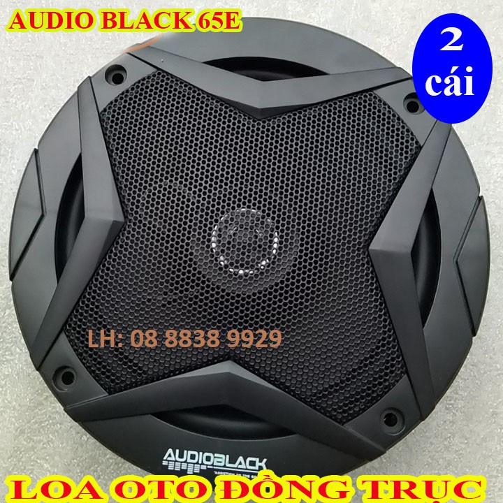 CẶP LOA ĐỒNG TRỤC 16 - AUDIO BLACK 65E - GỒM CẢ BASS TREBLE - GIÁ 1 CẶP
