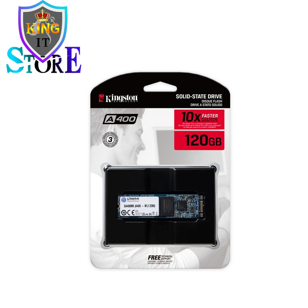 Ổ cứng SSD 120gb KingSton A400 M2 2280 sata 3 6gb/s