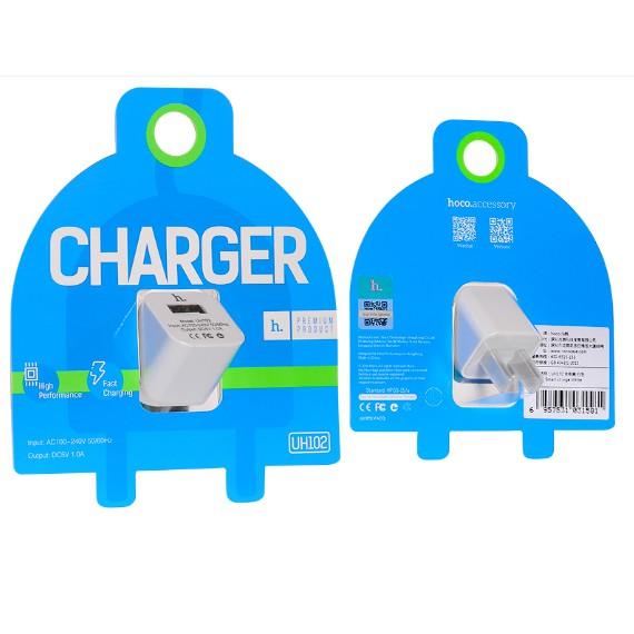 Củ sạc Hoco 1A SMART CHARGER cho iphone UH102 chính hãng