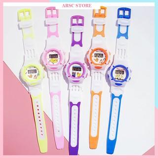 Đồng hồ điện tử cho trẻ em Candycat dây cao su thumbnail