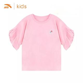 Áo cộc bé gái Anta Kids tay viền bèo dễ thương 362027150-4 thumbnail