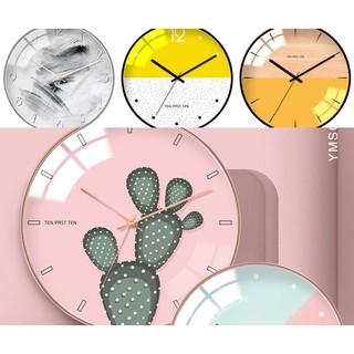 Đồng hồ treo tường hiện đại nghệ thuật Bắc Âu PA9423
