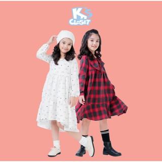Váy Dài Tay Bé Gái (3-9 Tuổi) K's Closet K100NIF / K150NIF TM