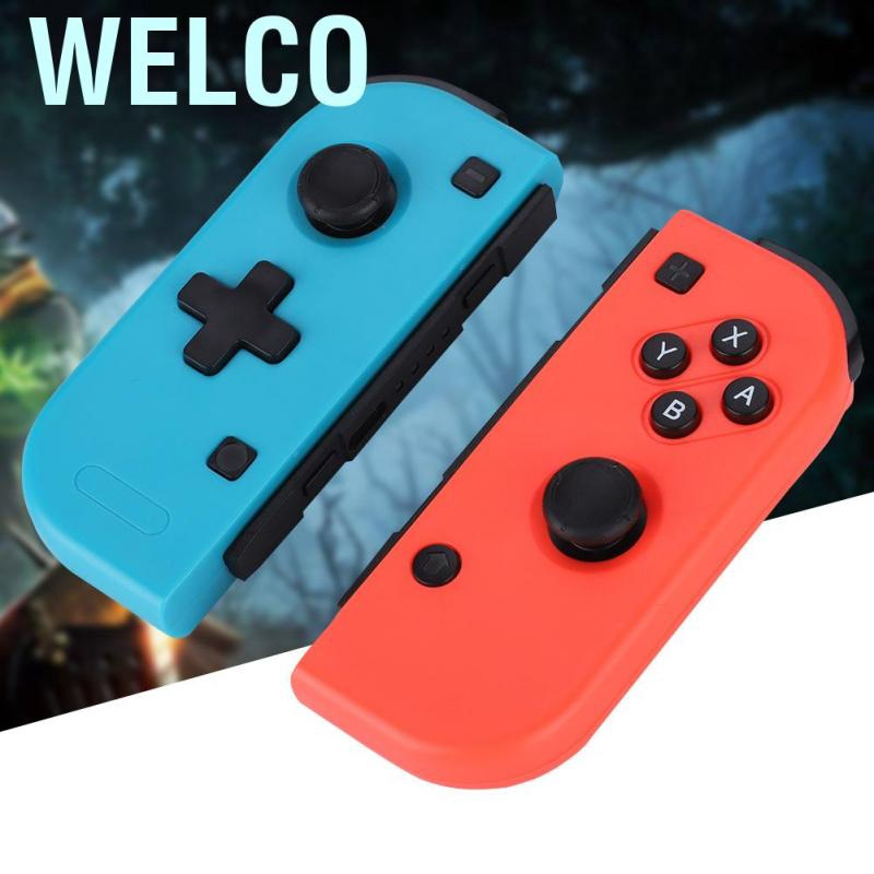 Welco Game Left and Right Handles Grip for Switch Host TYPE-C Anti-Shock Protective